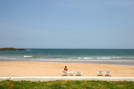 L'Amphitrite Palace: la spiaggia