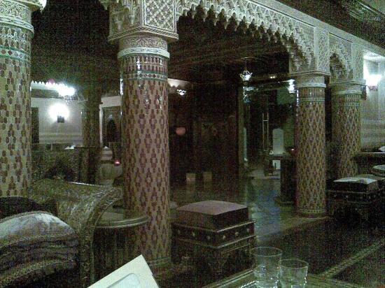 L'Amphitrite Palace : il ristorante marocchino