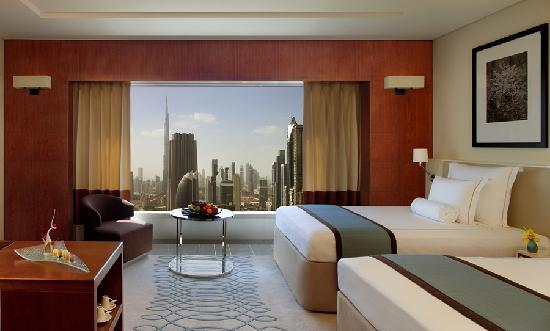 Jumeirah Emirates Towers: Twin Deluxe Room