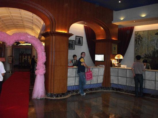 Shanghai Hotel: Rezeption