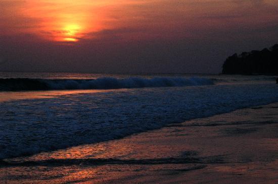 Radhanagar Beach: Sunset at Radhanagar