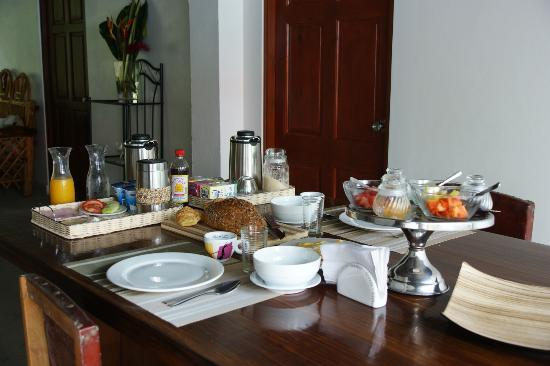The Balboa Heights Bed & Breakfast: great breakfast
