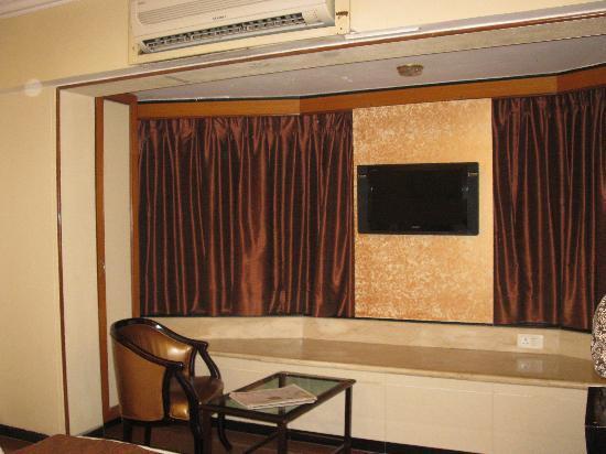 Hotel Executive Enclave : tv