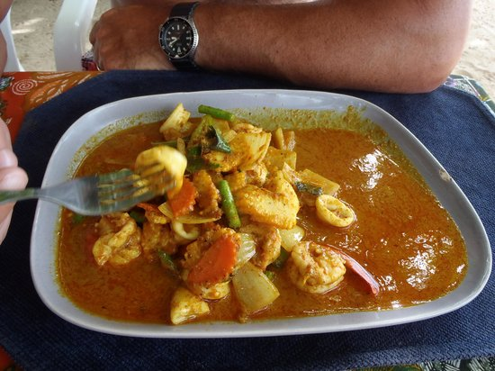Ocean Restaurant: Best curry in Thailand