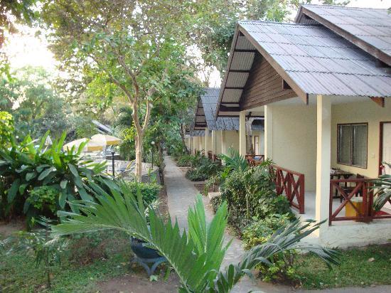 Pattaya Garden Hotel: Bungalows