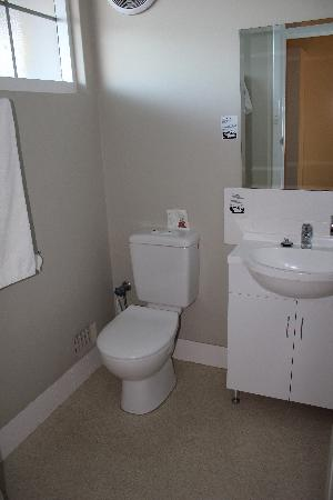 Ibis Styles Albany: Toilet and Vanity area