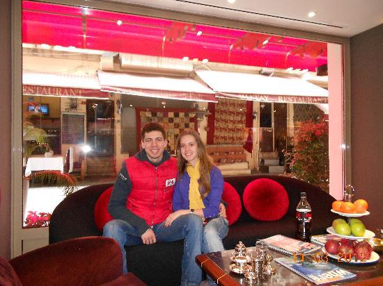 Hotel Sultania: In a lobby