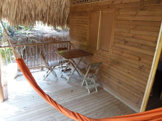 San Rafael - Tourist Inn in Tayrona: Nice little veranda