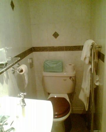 Oakbank House: Tiny bathroom 2