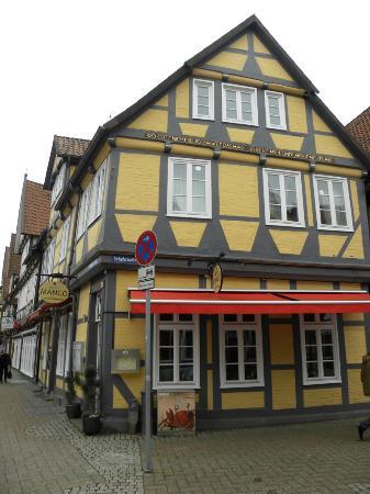 Mango Asia Bistro: Aussenansicht Restaurant Mango Celle