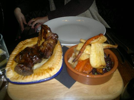 The Greyhound Inn: Cow pie