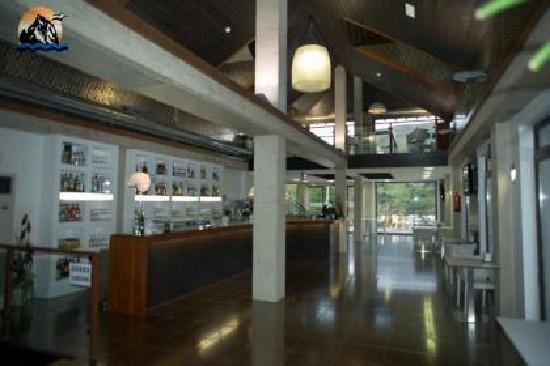 Cabarceno, Espanha: Cafeteria