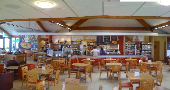 Sandbanks Beach cafe: ready and waiting for you