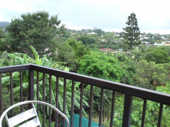 Toowong Villas: バルコニーからの眺め(24号室)