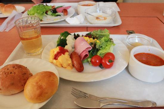 La Vista Izusan : 朝食の一部