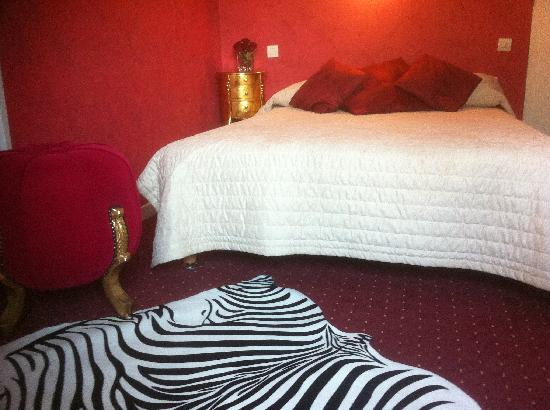 Le Barcares, France: chambre hotel port barcares