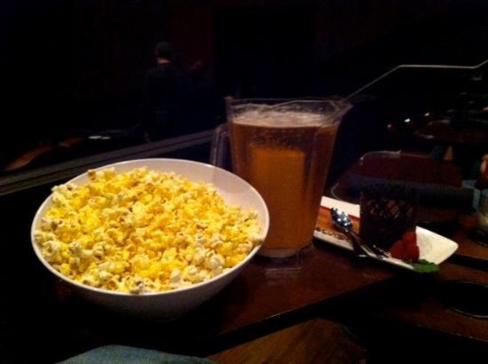 Cinebistro at Stony Point Fashion Park : My husband's snack