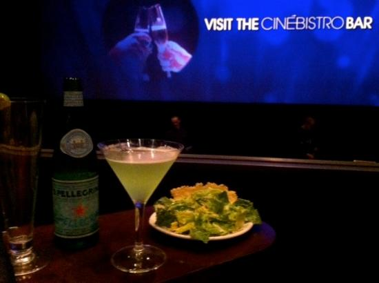 Cinebistro at Stony Point Fashion Park: My snack