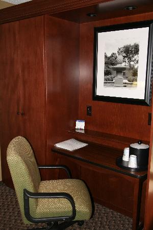 Hampton Inn Columbia-I-26 Airport: Desk Area in Room