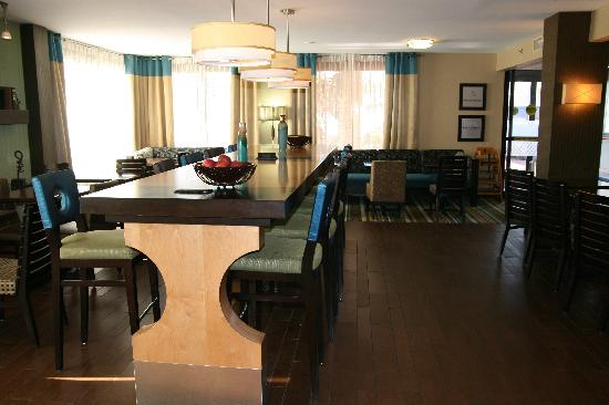 Hampton Inn Columbia-I-26 Airport: Lobby/Breakfast Area