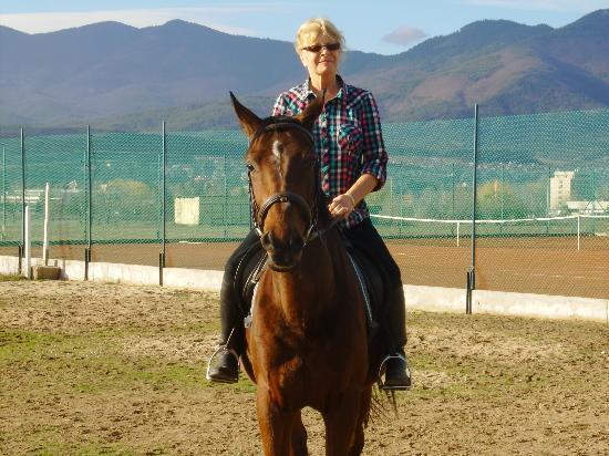 Equestrian Center Sivek: Me at sivek