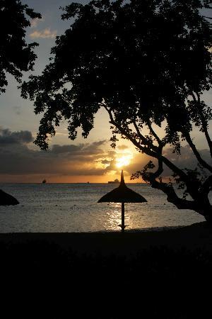 Angsana Balaclava Mauritius: Angsana sunset