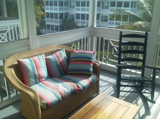 Hyatt Beach House Resort: Balcony