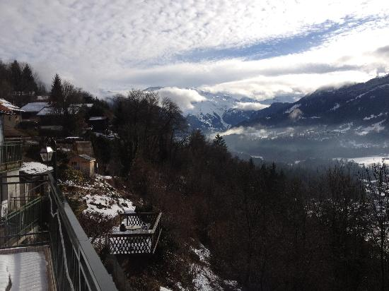 Chalet Hotel La Terrasse de Verchaix: great views