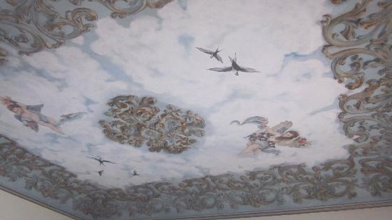 Belle Epoque 1904: Detalle del techo
