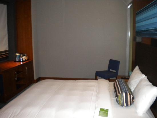 Aloft Abu Dhabi: Hotel room
