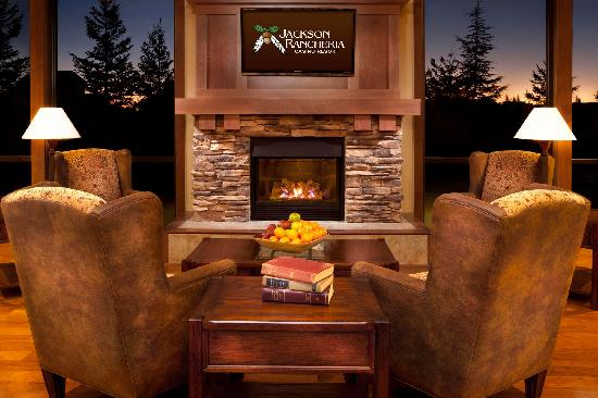 Jackson Rancheria Casino Resort: Hotel Lobby