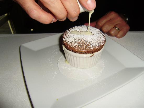 Farmhouse Inn Restaurant : Chocolate Souffle