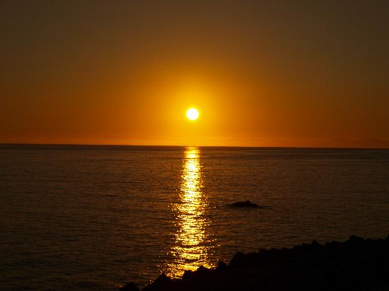Restaurante Sol Poente : Sunset at Ponta do Sol