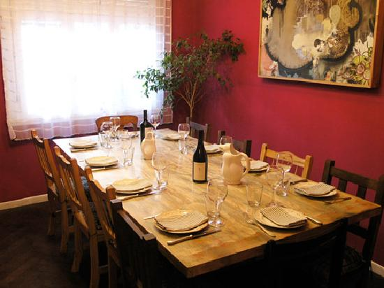 Adentro Dinner Club: Our dining room