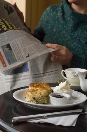 Rosie's Tea & Coffee Room: delicious cream tea