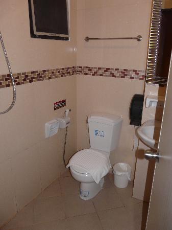Great Residence Hotel : kleines Badezimmer, aber in Ordnung