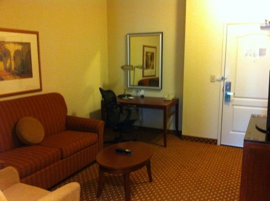 Hilton Garden Inn Panama City: sitting area in junior suite