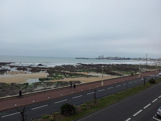 Atlantic Hotel & Spa : la vue de la chambre