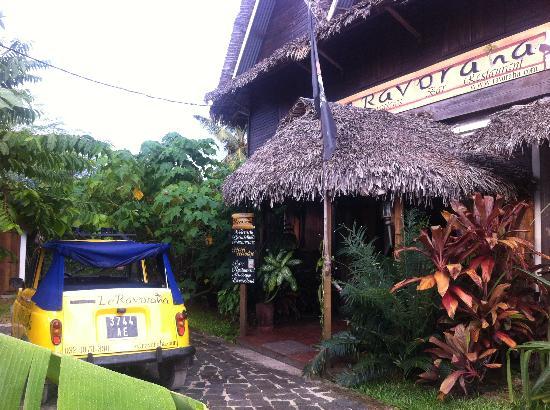 Hotel Eco-Lodge Ravoraha : hotel