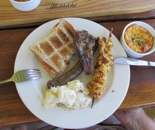 Middelvlei: Boerewors, Sosatie, Lamb Chop