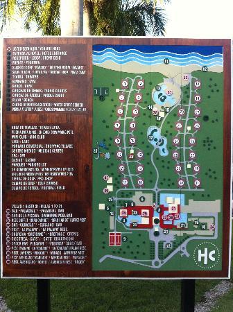 Catalonia Bavaro Beach Golf Resort Map Of