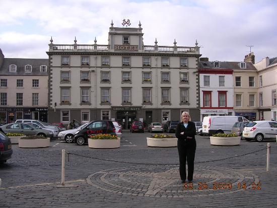 Cross Keys Hotel: The start of a great stay!