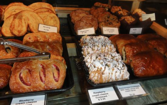 Bugaboos Bakery Cafe : Bugaboo house made pastries