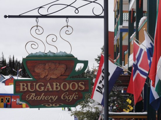 Bugaboos Bakery Cafe : Bugaboos - right off the ski run for lunch