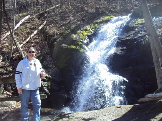 Crabtree Falls: Me on top of the falls