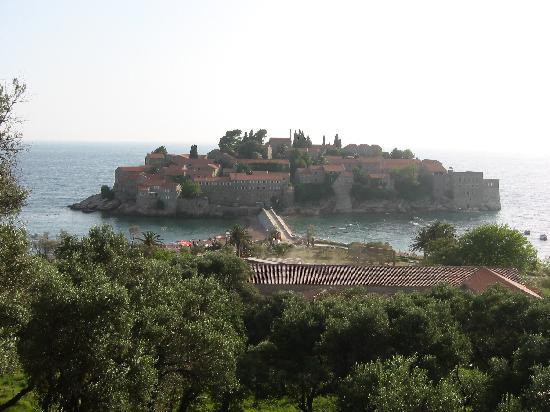Montenegro: Остров Свети Стефан2