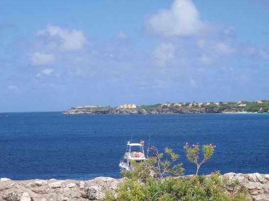 Marazul Dive Resort: Blick von der Terasse
