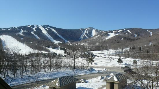 Mountain Green Resort: the view from the balcony