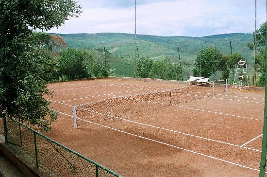 Hotel Moulay Yacoub: tennis
