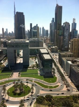 Jumeirah Emirates Towers: view from our room